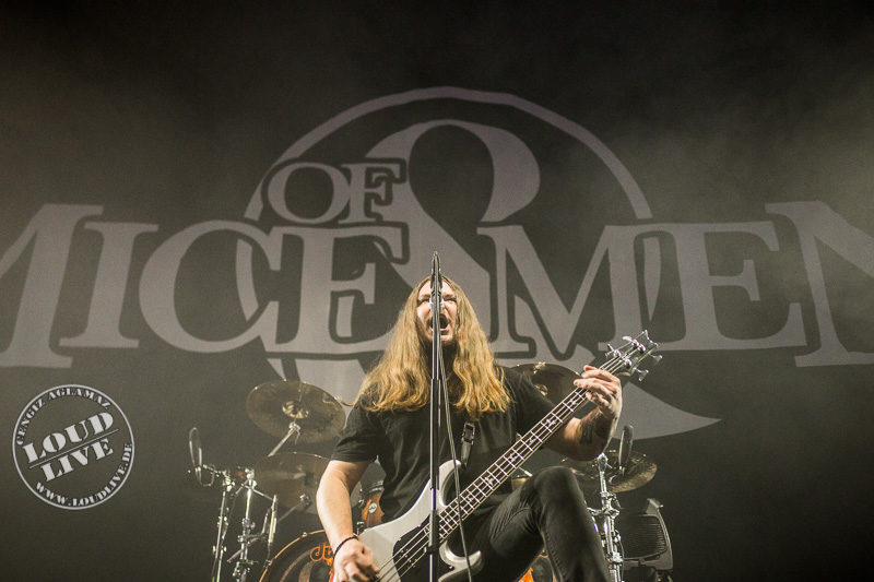 Of Mice & Men @ Barclaycard Arena Hamburg 21.11.2017