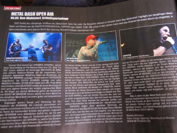 Metal Bash Bericht im Legacy 04/2012 P. 226