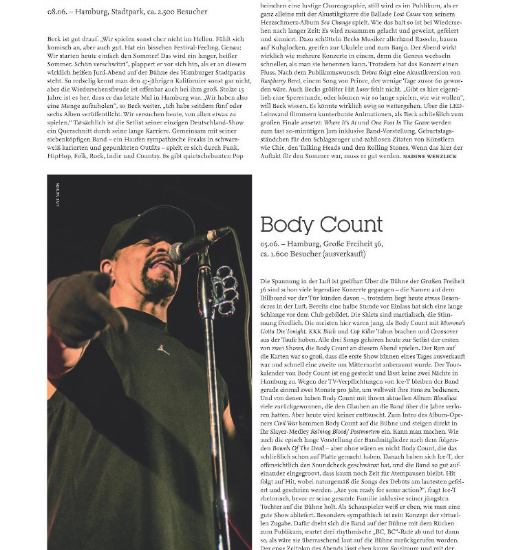 VISIONS Nr. 304 – Body Count – Feat Ice T