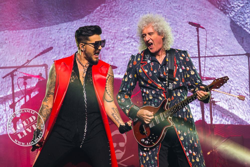 concertphotos from queen adam lambert barclaycard arena hamburg loud live. Black Bedroom Furniture Sets. Home Design Ideas